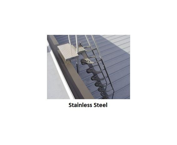 STAINLESS STEEL ALTERNATING TREAD STAIRS