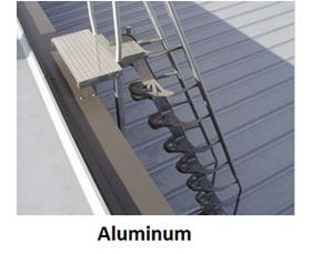 ALUMINUM (68 DEGREE ONLY) ALTERNATING TREAD STAIRS